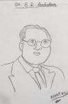 Anantharaman-T-G-Artwork-3-Dr-BR-Ambedkar-Drawing