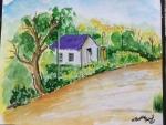 Bhagavathy-Raja-Artwork-Landscape-Painting