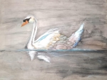 Deepika-Artwork-4-Swan-Painting