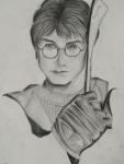 Habiba-Arshiya-Khan-Artwork-10-Harry-Potter-Pencil-Sketch