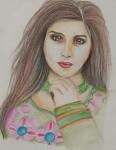 Habiba-Arshiya-Khan-Artwork-3-Lady-Painting