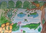 Hanshal-Banawar-Artwork-6-pond-animals