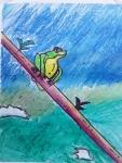 K-Madhusri-Artwork-3-Frog-Drawing
