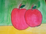 Akshadha-Radha-Artwork-Apples