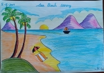 K-Sri-Avaneesh-Artwork-10-sea-beach-scenery