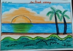 K-Sri-Avaneesh-Artwork-4-sea-beach-scenery