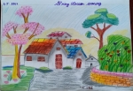 K-Sri-Avaneesh-Artwork-8-spring-season-scenery