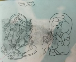 Kaneena-Jain-Artwork-7-Ganesha-Pencil-Work