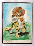 Dhanush-Kumar-Artwork-7-Tiger-Sketch