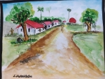 mukesh-babu-art-work-2-village-landscape-painting