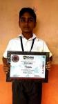mukesh-babu-picasso-art-contest-certificate
