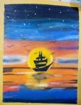 Raheel-Meshram-Painting-5-Seascape