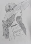 S-Samiksha-Artwork-2-Girl-pencil-sketch