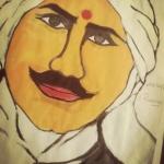 S-Sivaprasanniya-Artwork-4-Subramanya-Bharathi-Painting
