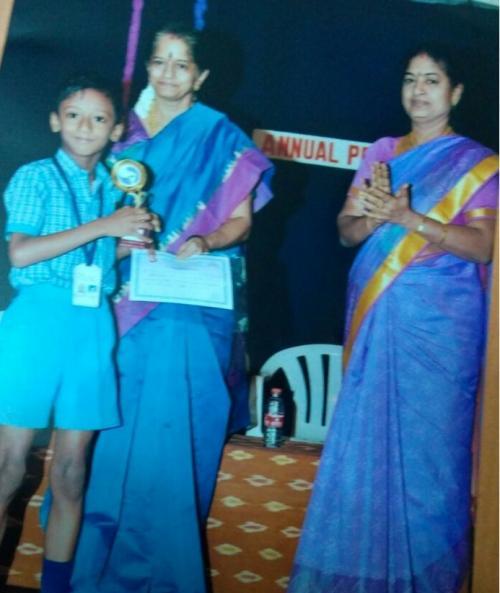 SV 1st std academic prize