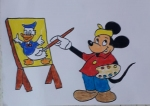 Satvik-Sriram-Artwork-4-Mickey-Mouse-Donald-Duck