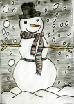 Shlok-Sethia-Artwork-2-Snowman