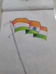 T-Mouneeswaran-ArtWork-2-Indian-Flag-Drawing