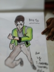 T-Mouneeswaran-ArtWork-5-Ben10-Drawing