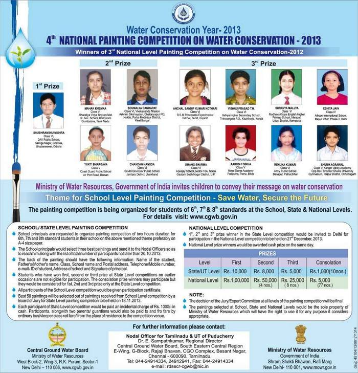 water conservation 2013