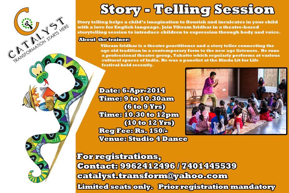 story telling - 6h april new