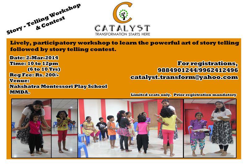 Story Telling Workshop - Mar 2nd