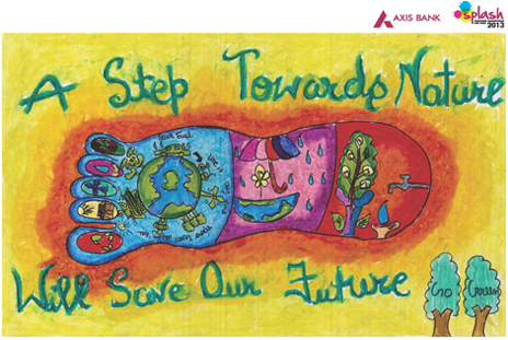 Axis Bank Splash Painting Competition 2013 National ...