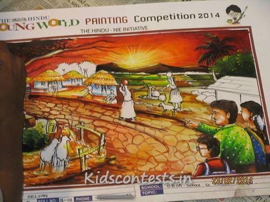consolation-prize-seniors-hindu-young-world-contest2014