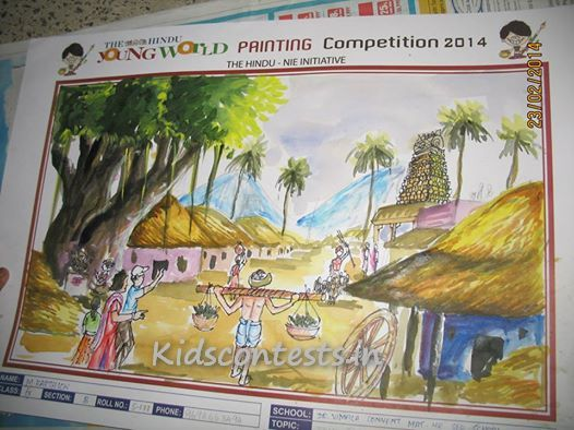 first-prrize-seniors-hindu-yound-world-painting-contest-2014