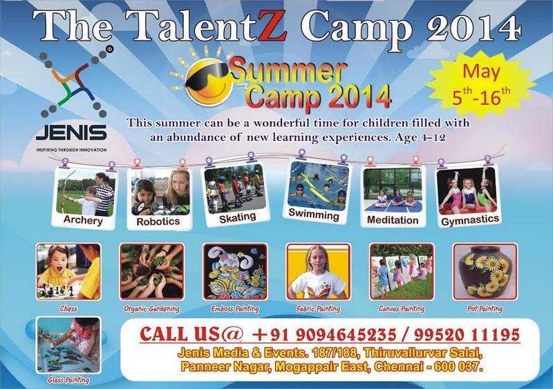 The TalentZ Camp – Summer Camp 2014