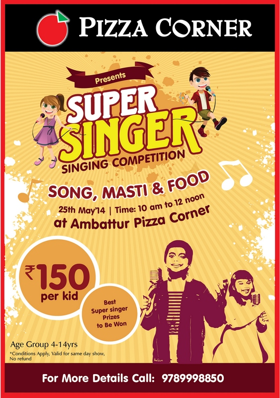 Singing Competition-Pizza Corner