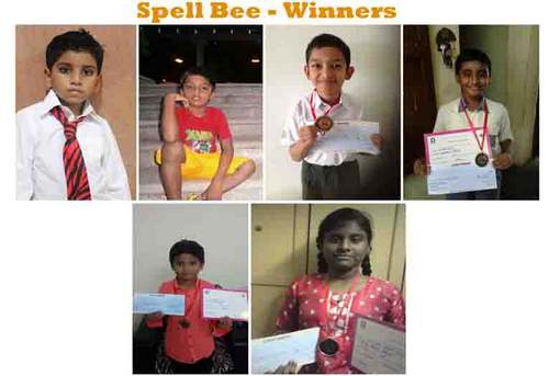Spell Bee –  Results from Catalyst!!!