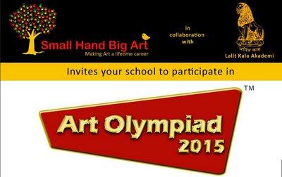 Small Hand Big Art Art Olympiad 2015