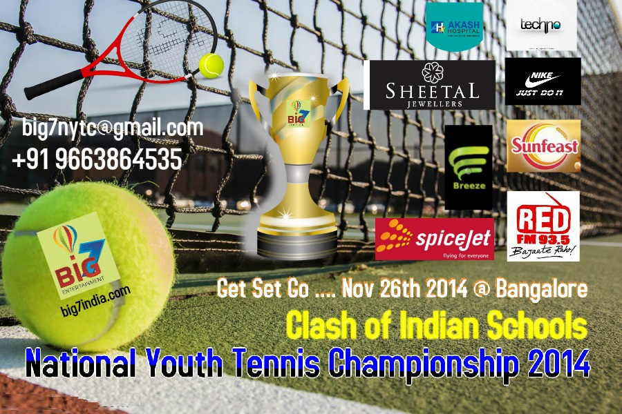Indian Schools National Youth Tennis and Table Tennis Championship 2014