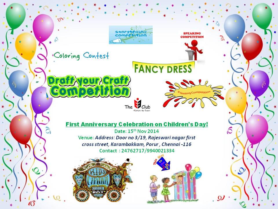 Kids Carnival for Children's Day