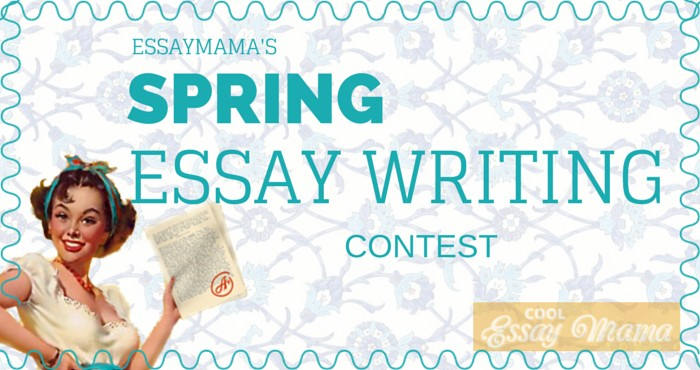 Spring Essay Writing Contest