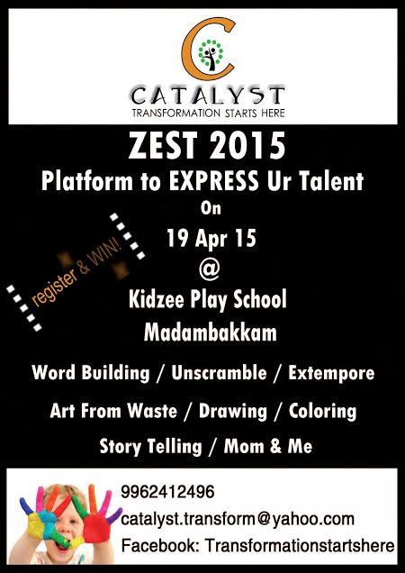 Zest 2015 – Platform to EXPRESS Ur Talent