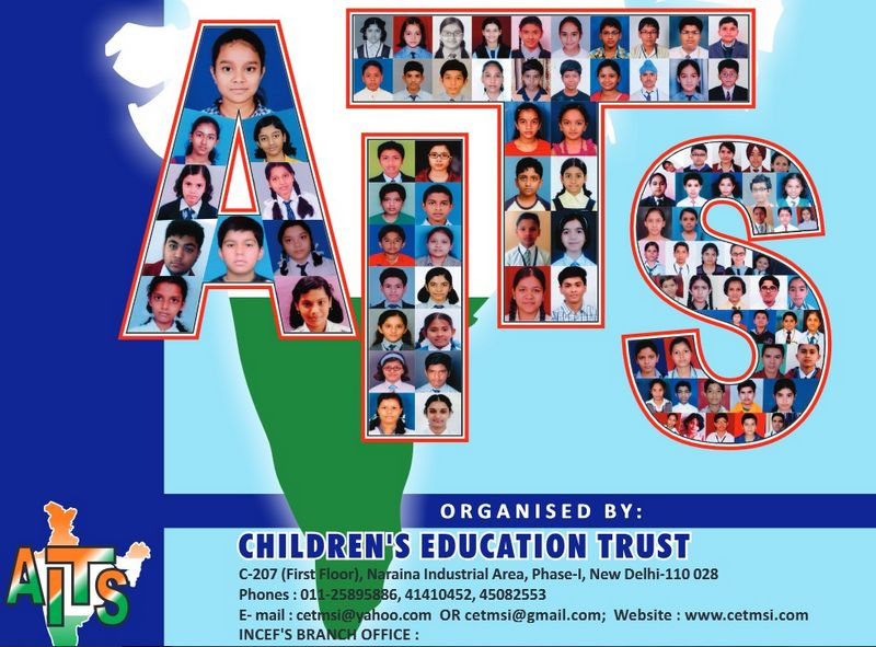 All India Talent Scholarship Awards by Children's Educational Trust (CETMSI)
