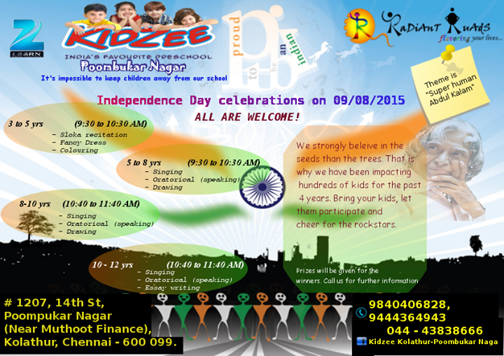kidzee-independance-day-2015