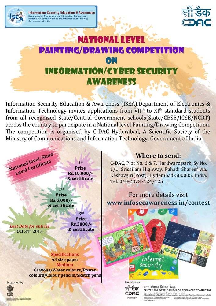 Painting competition poster