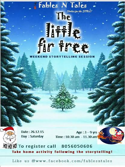 "Weekend Storytelling Session for Children ""Christmas Special"""