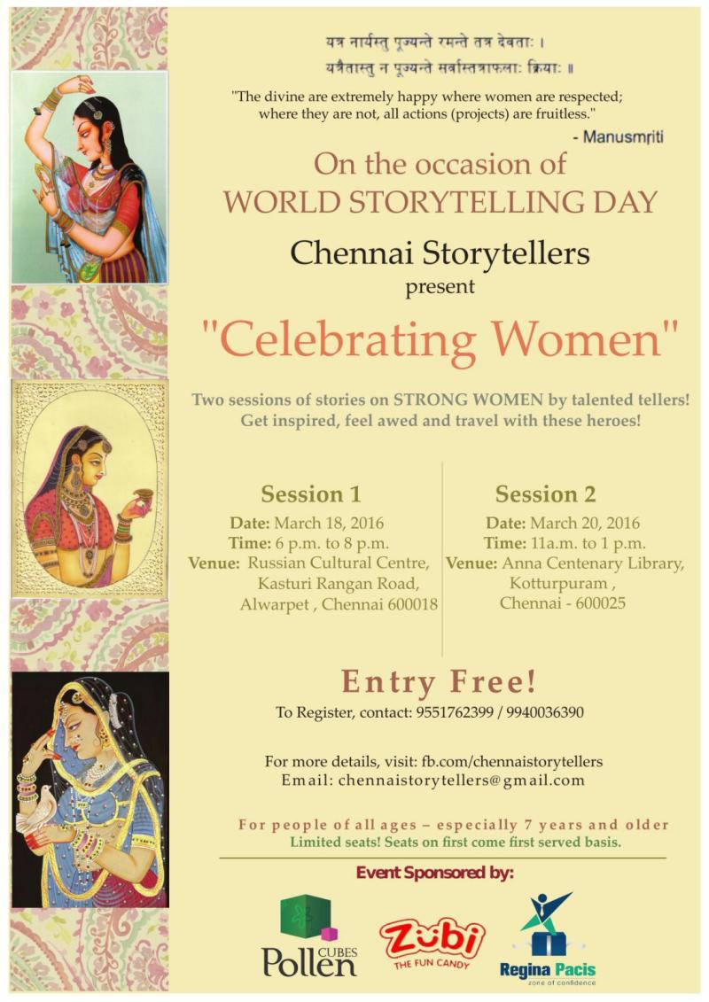 World Storytelling Day