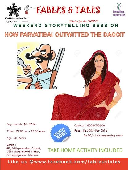 World Story Telling Day – Special Story Telling Session