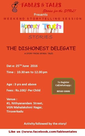 dishonest-delegate-story