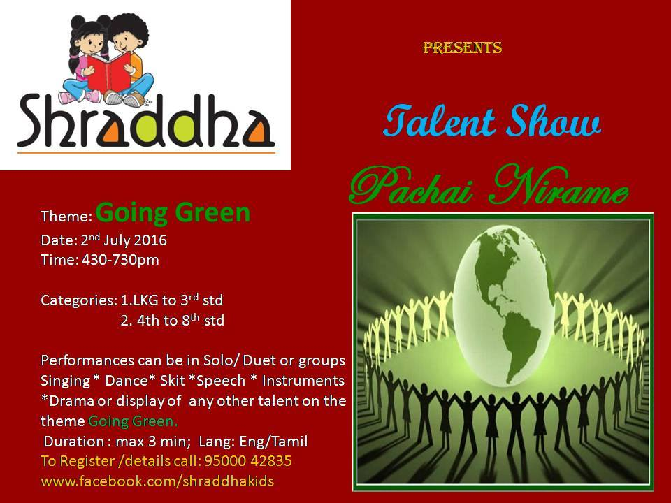shraddha-talent-show