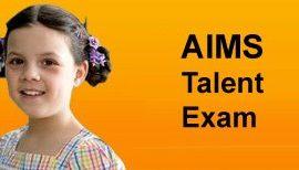AIMS Talent Exam