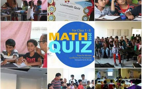 Math Mega Quiz at T.Nagar Cuemath on July 24, Sunday