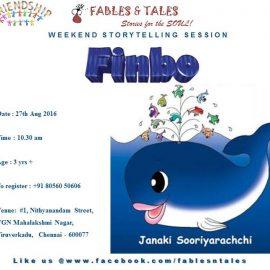 Storytelling Session on 27.08.16  :  Finbo