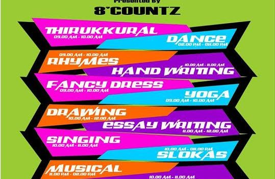 8'countz Dance & co State Level Competition 'F2F'
