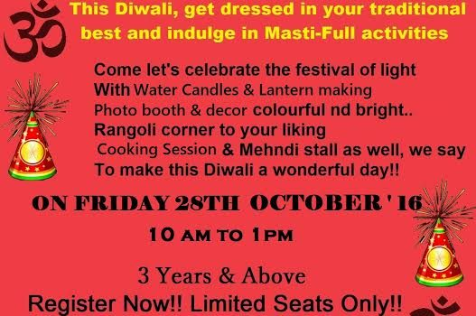 Diwali Masti Carnival for kids